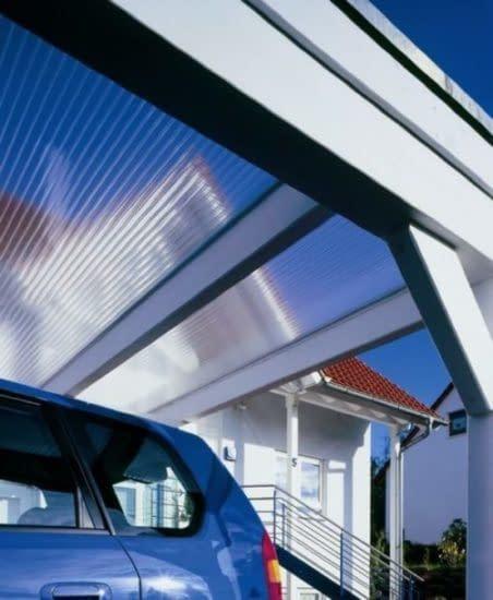Dächer aus Plexiglas®, Makrolon® für Außenbereich.